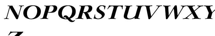 EF Lingwood CE Bold Italic Font UPPERCASE