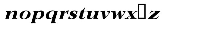 EF Lingwood CE Bold Italic Font LOWERCASE