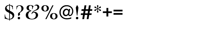 EF Lingwood CE Medium Font OTHER CHARS