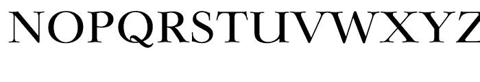 EF Lingwood CE Medium Font UPPERCASE