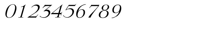 EF Lingwood Light Italic Font OTHER CHARS