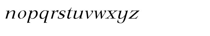 EF Lingwood Regular Italic Font LOWERCASE