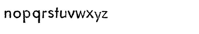 EF Literally Original Font LOWERCASE