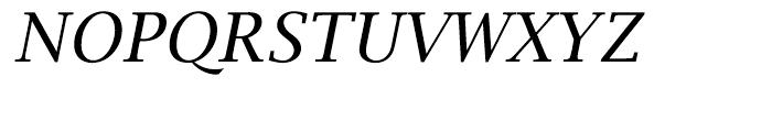 EF Lucida Bright Turkish Roman Italic Font UPPERCASE