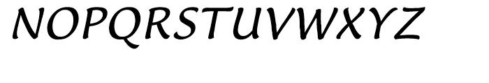 EF Lucida Casual T Italic Font UPPERCASE