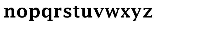 EF Lucida Fax Demi Bold Font LOWERCASE