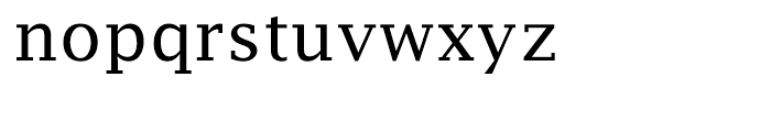 EF Lucida Fax Roman Font LOWERCASE