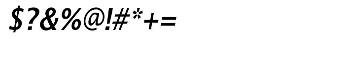 EF Lucida Sans Narrow CE Demi Bold Italic Font OTHER CHARS