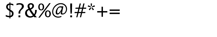 EF Lucida Sans Roman Font OTHER CHARS