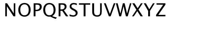 EF Lucida Sans Roman Font UPPERCASE