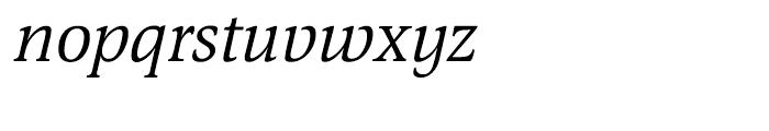 EF Magna CE Italic Font LOWERCASE