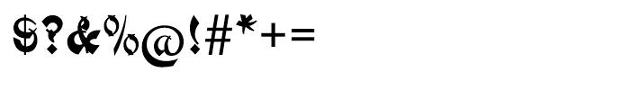 EF Mandarin Regular Font OTHER CHARS