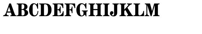 EF Modern Extended Bold Font UPPERCASE