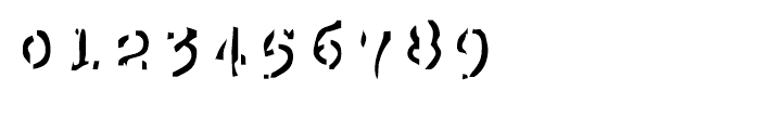 EF Mono Stochastic Font OTHER CHARS