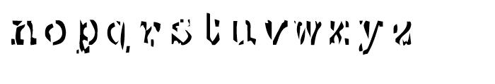 EF Mono Stochastic Font LOWERCASE