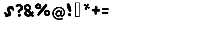 EF NOODless in Soup Regular Font OTHER CHARS