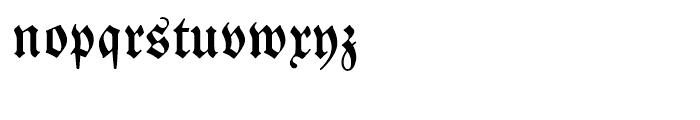 EF Neue Luthersche Fraktur Medium Alt Font LOWERCASE