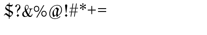EF Neue Luthersche Fraktur Regular Alternate Font OTHER CHARS