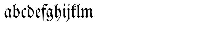EF Neue Luthersche Fraktur Regular Font LOWERCASE