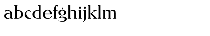 EF Nevada CE Regular Font LOWERCASE