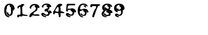 EF Oak Engraved Font OTHER CHARS
