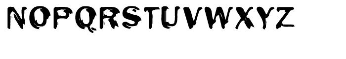 EF Oak Engraved Font UPPERCASE