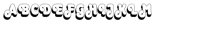 EF Octopuss Shaded Font UPPERCASE