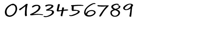 EF Optiscript Regular Font OTHER CHARS
