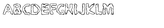 EF PYROmania Encenderse Font UPPERCASE