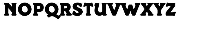 EF Paddington Regular Font UPPERCASE