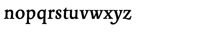 EF Panther Bold Font LOWERCASE