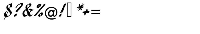 EF Pendry Script Alternate Font OTHER CHARS