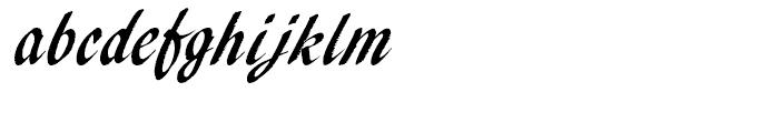 EF Pendry Script Alternate Font LOWERCASE