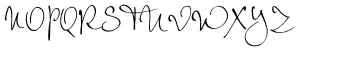 EF Petras Script Regular Font UPPERCASE