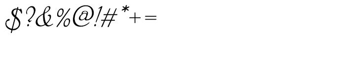 EF Phyllis Regular Font OTHER CHARS