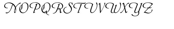 EF Phyllis Regular Font UPPERCASE