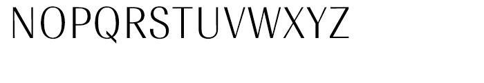 EF Radiant Text CE Light Font UPPERCASE