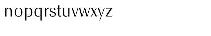 EF Radiant Text CE Light Font LOWERCASE