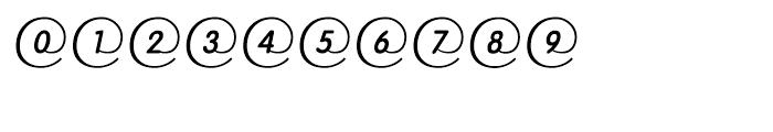 EF RoundMail Regular Font OTHER CHARS