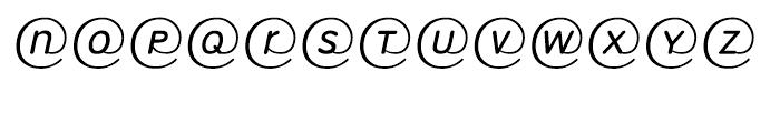 EF RoundMail Regular Font UPPERCASE