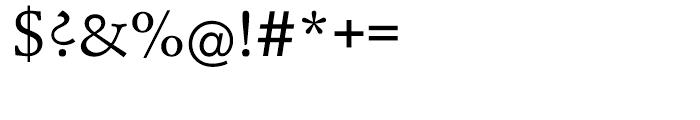 EF Schneidler Medium Font OTHER CHARS