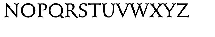 EF Schneidler Medium Font UPPERCASE