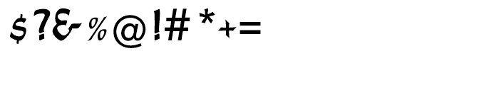 EF Shamrock Regular Font OTHER CHARS