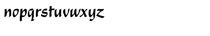 EF Shamrock Regular Font LOWERCASE