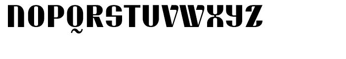 EF Skaiki Bold Font UPPERCASE