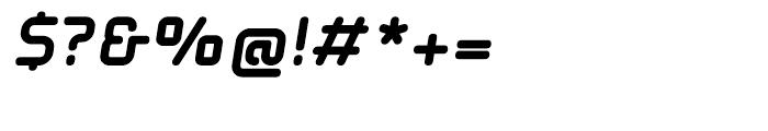 EF Solaris Black Oblique Font OTHER CHARS