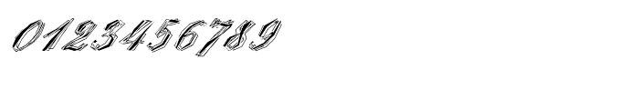 EF StealPlate Regular Font OTHER CHARS