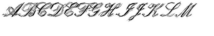EF StealPlate Regular Font UPPERCASE