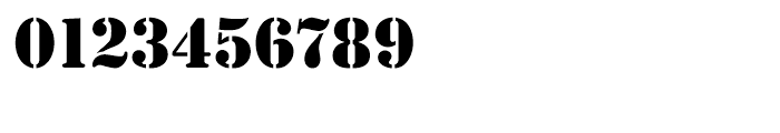 EF Stencil Antiqua Reg Font OTHER CHARS