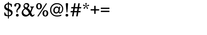 EF Stratford CE Regular Font OTHER CHARS
